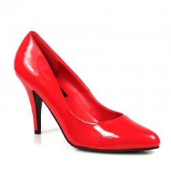 Escarpins Talons Hauts Pleaser VANITY-420 Rouge vernis