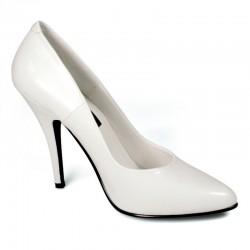 Escarpins Talons Hauts Pleaser SEDUCE-420 Blanc mat