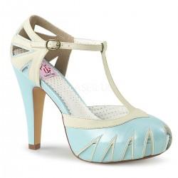 Escarpins Pin Up Couture BETTIE-25 Bleu