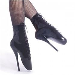 Ballets Devious BALLET-1020 Noir vernis