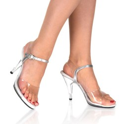 Sandales Fabulicious CARESS-408 Transparent