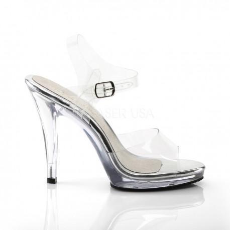 Sandales Fabulicious FLAIR-408 Transparent