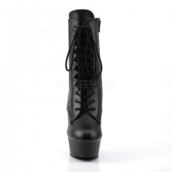 Bottines Plateformes Pleaser DELIGHT-1020L Noir Cuir